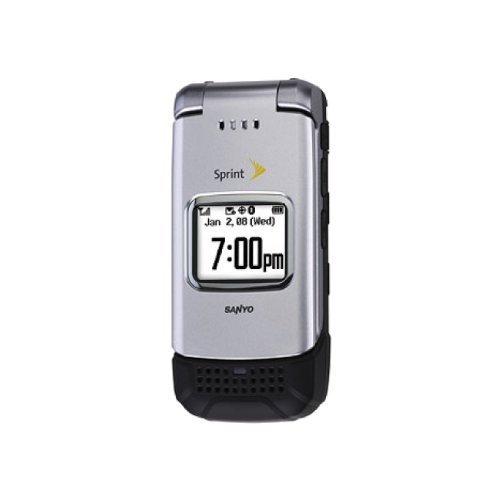 Sanyo Pro 200 Silver Sprint Flip Phone Advantages