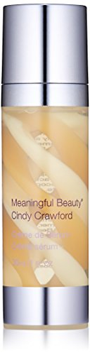 Meaningful Beauty Crème de Serum, Night Moisturizer with Melon Extract, Peptides, and Hyaluronic Acid, 1 Fluid Ounce