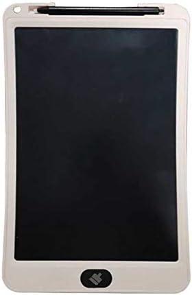 LKJASDHL 10インチ高輝度厚ペンLCDタブレットLcd電子光エネルギー黒板子供のスマート描画ボード黒板ペン (色 : ホワイト)