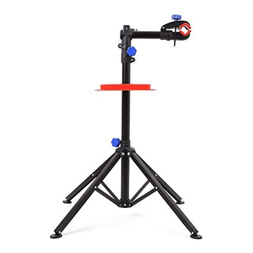 - MVPower Pro Mechanic Bike Repair Stand Adjustable Height Bicycle Maintenance Rack Workstand With Tool Tray, Telescopic Arm Cycle