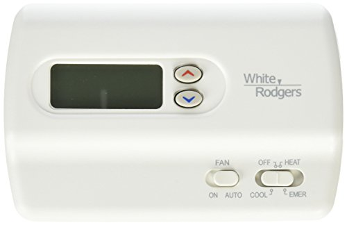 White-Rodgers 1F89-211 Non-Programmable Heat Pump Thermostat