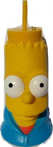 - The Simpsons Bart Simpson Souvenir Drink Cup Durable High Quality