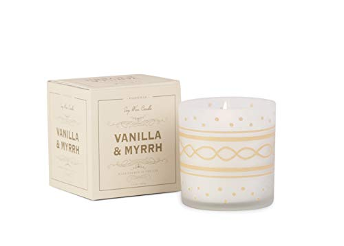 Paddywax Candles Glee Collection Holiday Scented Candle 8-Ounce Vanilla & Myrrh