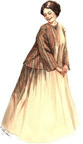 1850 Costumes (1850's - 1870's Sacque and Petticoat)
