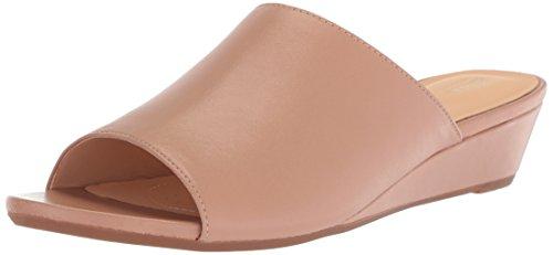 Leather Zapato Destalonado Clarks Beige Talla Mujeres B7F6nF