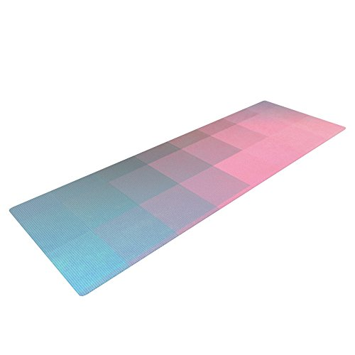 Kess InHouse Danny Ivan Yoga Exercise Mat Girly Pixel Surface 72 x 24-Inch