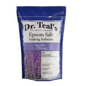 Dr. Epsom Salt Soaking Solution Sleep Lavender 48 OZ (Pack of 12)