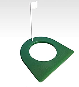 "Golf Rubber Putting Cup Regular Size 4 1/4"" Hole and Flag from Scott Edwards Golf"