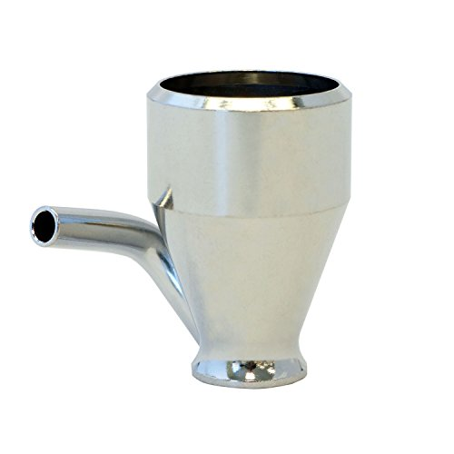 - Paasche 1/4-Ounce Metal Cup for H Airbrush (H-1/4-OZ)