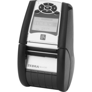 "Zebra Technologies QN2-AUCA0M00-00 Series QLN220 Direct Thermal Healthcare Mobile Printer for 2"" Application, CPCL, ZPL, LCD, USB, Bluetooth 3.0, Ethernet, Cradle, 128MB/256MB"