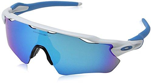 Oakley Men's Radar Ev Path Rectangular Sunglasses, Polished White, 0 ()