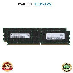 375004-B21 4GB (2x2GB) Compaq Proliant PC2-3200 ECC Registered Dual-Rank Memory Kit 100% Compatible memory by NETCNA USA -