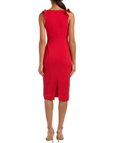12 Dress Midi Womens Godfrey Red Jay Pw06Zxq