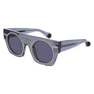 Sunglasses Christopher Kane CK0008S CK 0008 8S S 8 001 GREY / GREY / GREY