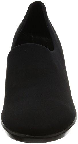 ECCO Shape 55 Plateau, Zapatos de Tacón para Mujer Negro (Black/black)