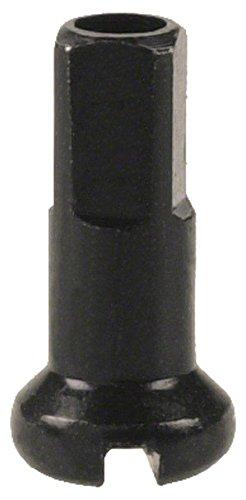 DT Swiss 14G Alloy Nipple Spoke (Box of 100), Black, 2mm