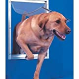 Deluxe Aluminium Pet Door Extra Large