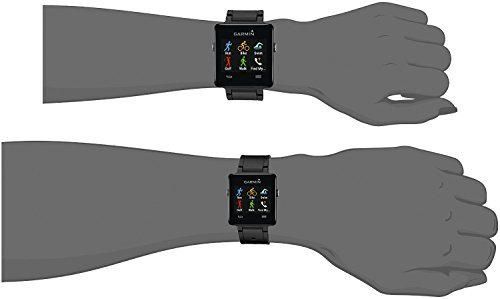Band for Garmin Vivoactive, Soft Silicone Wristband Replacement Watch Band for Garmin Vivoactive Sports GPS Smart Watch