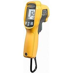 Fluke 62 MAX Plus IR Thermometer, Non Contact, -20 to +1202 Degree F Range