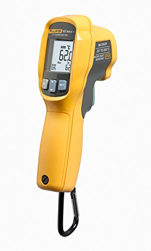 Fluke 62 MAX Plus IR Thermometer, Non Contact, -20 to +1202 Degree F Range
