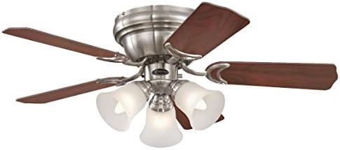 Westinghouse Lighting Contempra Ventilador de Techo E27, 37 W ...