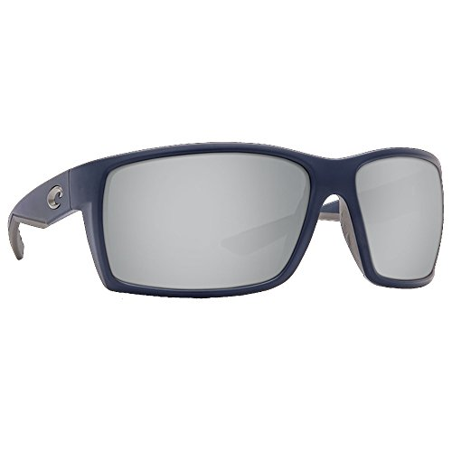 Costa Del Mar Reefton Sunglass, Matte Dark Blue/Silver Mirror - Del Mar.com Costa