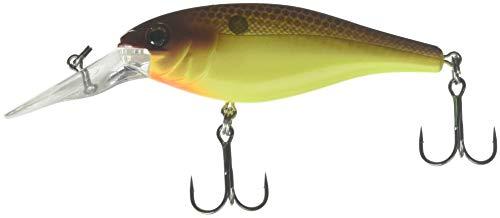 Berkley Bad Shad Fishing Bait, Brown Mustard, 2 3/4