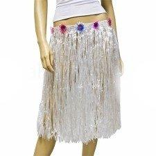 Falda Hawaiana (Blanca): Amazon.es: Juguetes y juegos