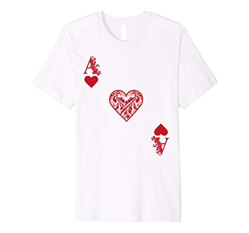 Ace Of Hearts Costume Shirt - Funny Halloween Gift Tshirt -