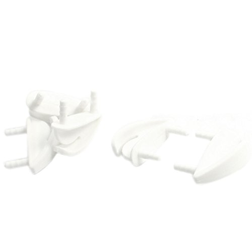 5Pcs RC Airplane Spare Parts White Plastic Wing Skids 28 x 10 x 12mm