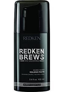 Redken Brews Molding Paste, 3.4 fl. oz.