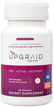 UPGRAID Proactive Recovery Supplements for a Return to Healthy Inflammation, Ache Relief, Stress Relief, Sleep