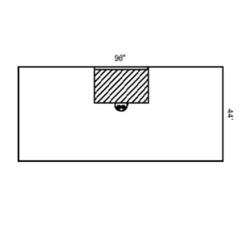 Halyard Health 79370 Bar Drape, Universal/Ancillary, Non-Sterile, SMS Fabric, 96'' x 44'' (Pack of 40)