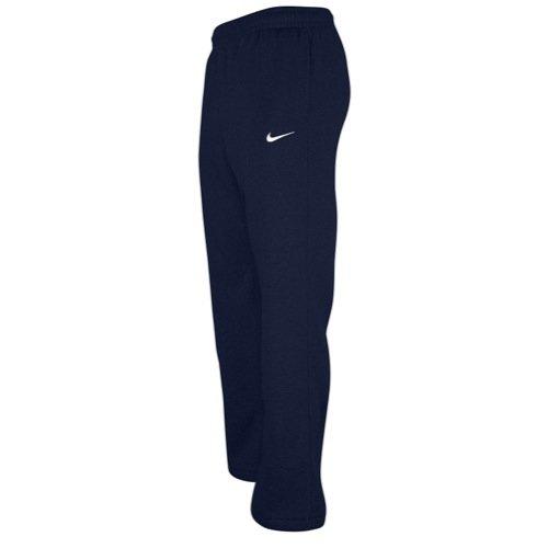 Nike Sport Pants (Nike Club Swoosh Men's Fleece Sweatpants Pants Classic Fit, Small -)