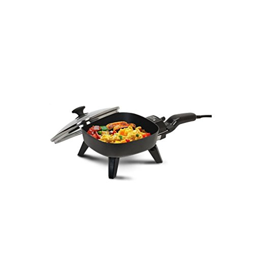 MaxiMatic EFS-400 Elite Cuisine 7-Inch Non-Stick Electric Skillet with Glass Lid