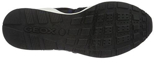 Geox D Omaya Plus a, Zapatillas para Mujer Blau (NAVY/BLACKC0045)