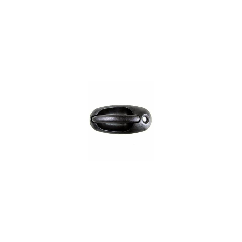 QP D2058 a Chrysler Town & Country Textured Black Driver Front Outside Door Handle