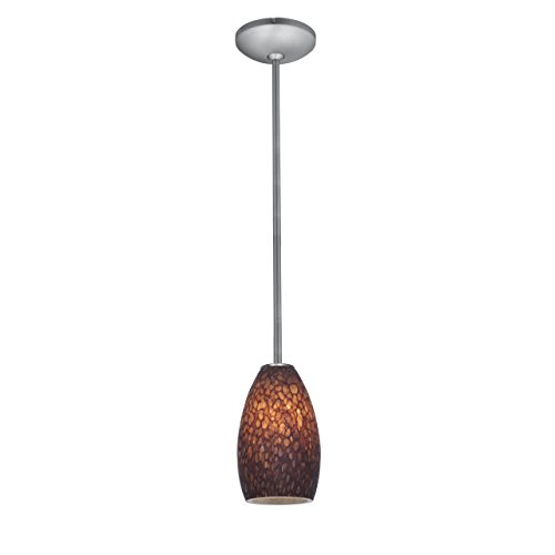 access-lighting-28012-3r-bs-brst-champagne-led-rod-pendant-with-brown-stone-glass-shade-brushed-stee