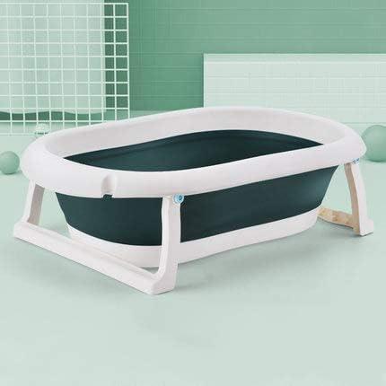 MTX-RM - Bañera para bebés recién nacidos se puede sentarse y tumbarse bañera, material de polipropileno, almacenamiento portátil, bloqueo de temperatura envolvente, para 0 – 5 años de edad