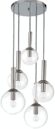 Sonneman Bubbles 5 Light Pendant