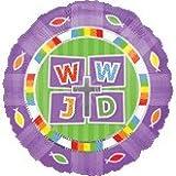18 Inch WWJD Balloon
