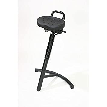 sit stand stool stabilith frame colour black