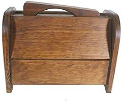 CAL FUSTER - Caja de Madera Maciza para Limpia Calzados. Medidas: 28x20 cm.: Amazon.es: Hogar