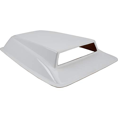 (Pro Stock Drag Car Fiberglass Intake Air Hood Scoop, 32 x 22 x)