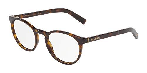 - Dolce Gabbana DG3309 Havana/Clear Lens Eyeglasses