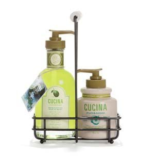 Fruits and Passion's NEW Cucina Regenerating Hand Care Duo Lime Zest & Cypress by Cucina
