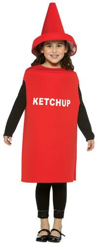 Ketchup Costume - Medium (Ketchup Child Costumes)