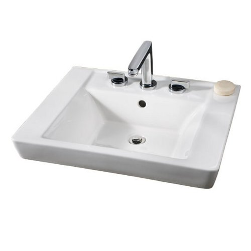 American Standard 0641.001.222 Boulevard Above Countertop Bathroom Sink, (Boulevard Counter)