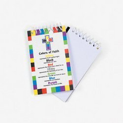 COLORS FAITH NOTEPAD DOZEN BULK