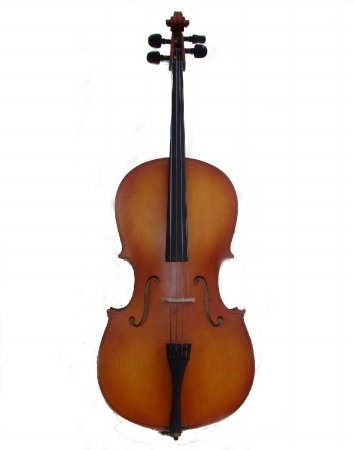 Merano MC100 4/4 Cello with Bag and Bow + Rosin